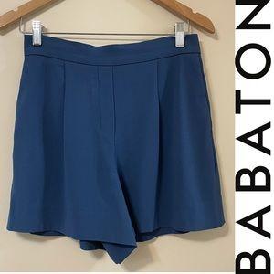 Babaton Cohen Shorts in Navy